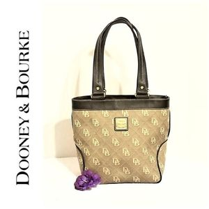 Dooney & Bourke Monogram Quilted Shoulder Bag